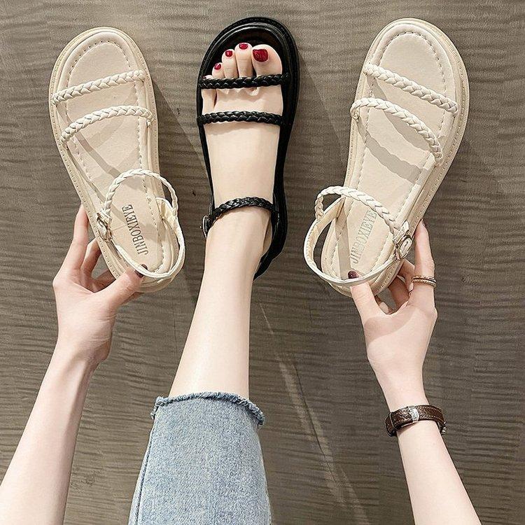 Giày Sandal Thời Trang Hàn Quốc Cho Nữ