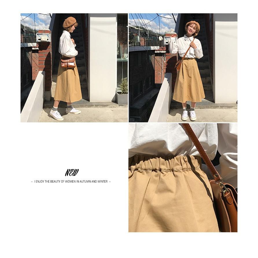 1037038220 - Chân váy Rena dáng dài