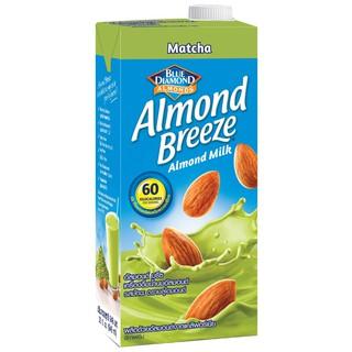 Sữa hạnh nhân ALMOND BREEZE MATCHA 946ml