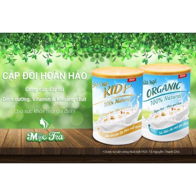 Sữa hạt Organic, Kidy Mộc Trà