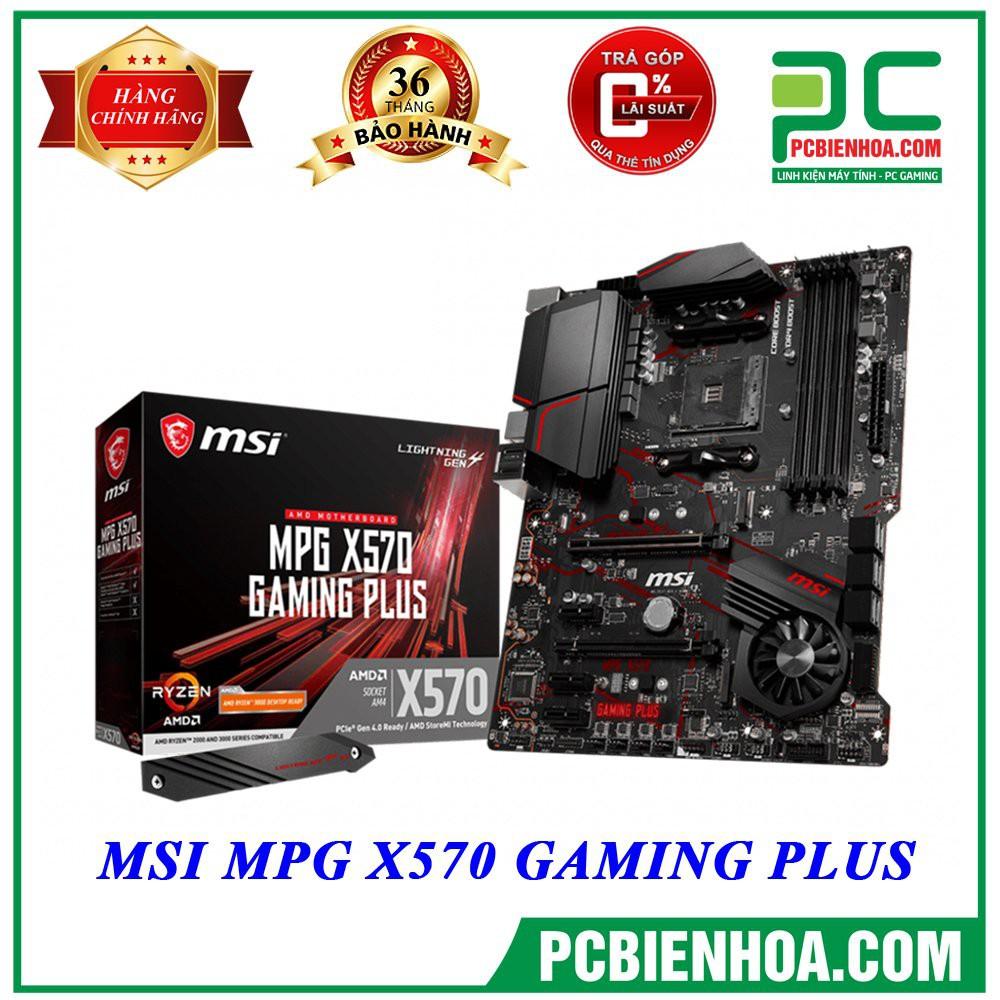 Bo mạch chủ MSI MPG X570 GAMING PLUS