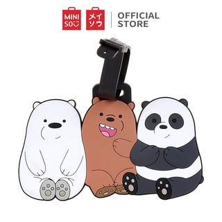 Miniso Thẻ hành lý We Bare Bears thumbnail