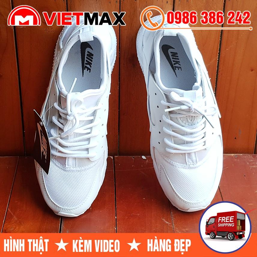 ⚡[FREE SHIP] Giày Nike Huarache Trắng Full Nam Nữ