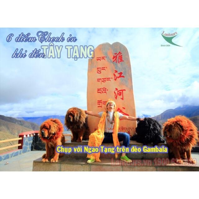 Tour: Tây Tạng phiên bản đặc biệt - 2 thánh hồ Namtso & Yamdrok,lạng Tạng cổ, trại Ngao ( 8n7đ):