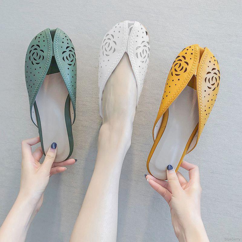Giày sandal nữ thoáng khí thời trang Hàn Quốc