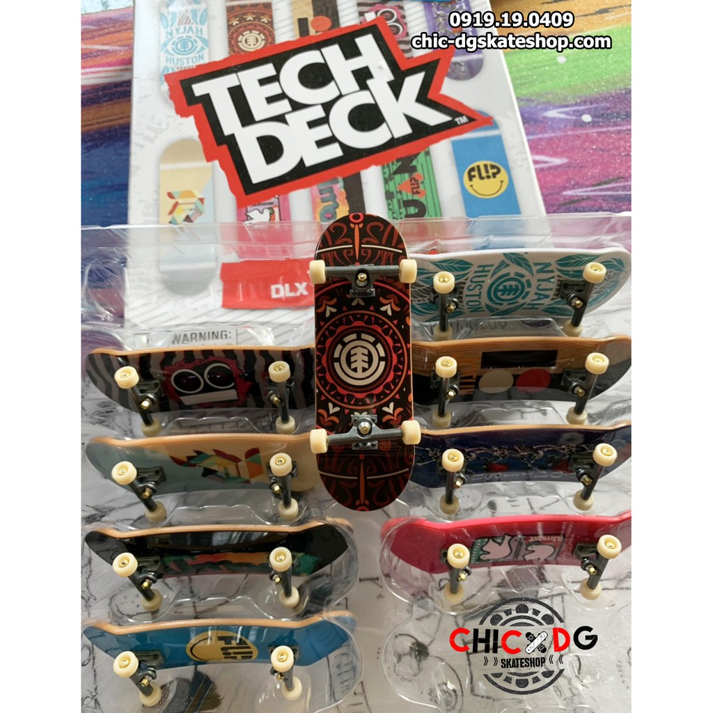 Tech Deck 32mm có bushing cao su