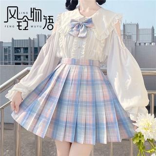 Câu chuyện Chuông gió [] jk váy lưới nguyên bản chính hãng Uniform xếp ly nửa dài mới 2021YTUYAX thumbnail