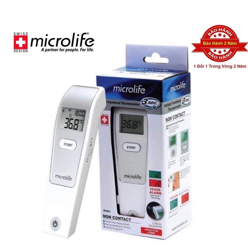 Nhiệt kế hồng ngoại đo trán Microlife NC 200/ FR1FM1