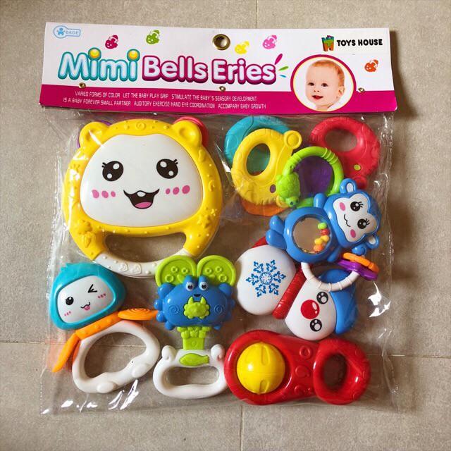 Đồ chơi xúc xắc- túi 7 món Toys House