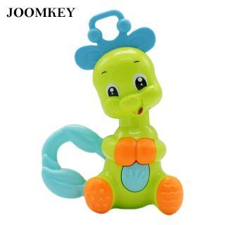 joomkey Shaking Rattles Shaking Baby Cartoon Giraffe Early Educational Toy Safe Vintage