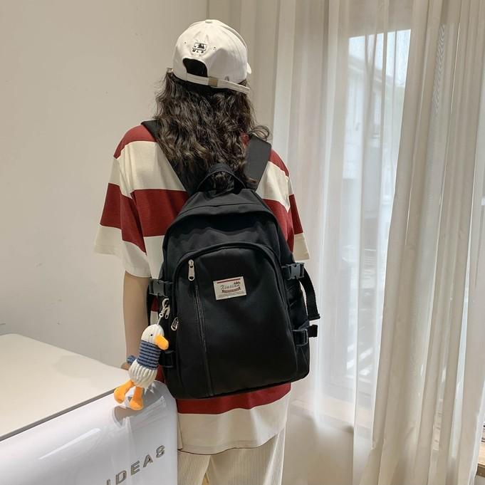 Balo nữ ulzzang thời trang chống nước ba lô laptop phù hợp đi học đi làm đi phượt du lịch đựng quần áo