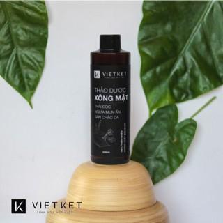[Chính hãng]Thảo dược xông mặt VIETKET nguyên liệu thiên nhiên giúp thư giãn, thải độc, loại bỏ bụi bẩn, bã nhờn (250ml)