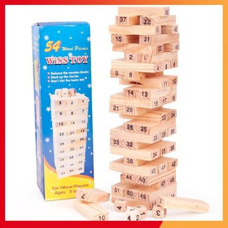 [GIÁ SỈ] bộ đồ chơi rút gỗ loại to 23 cm siêu đẹp