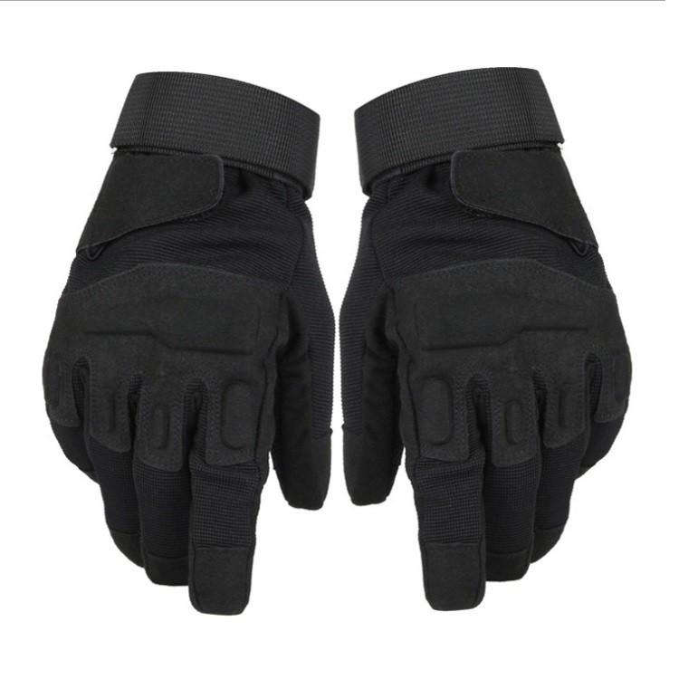 Găng tay vải thể thao BLACK_HAWK Size L, phượt, tập GYM, găng tay quân sự đa năng chống trơn trượt,