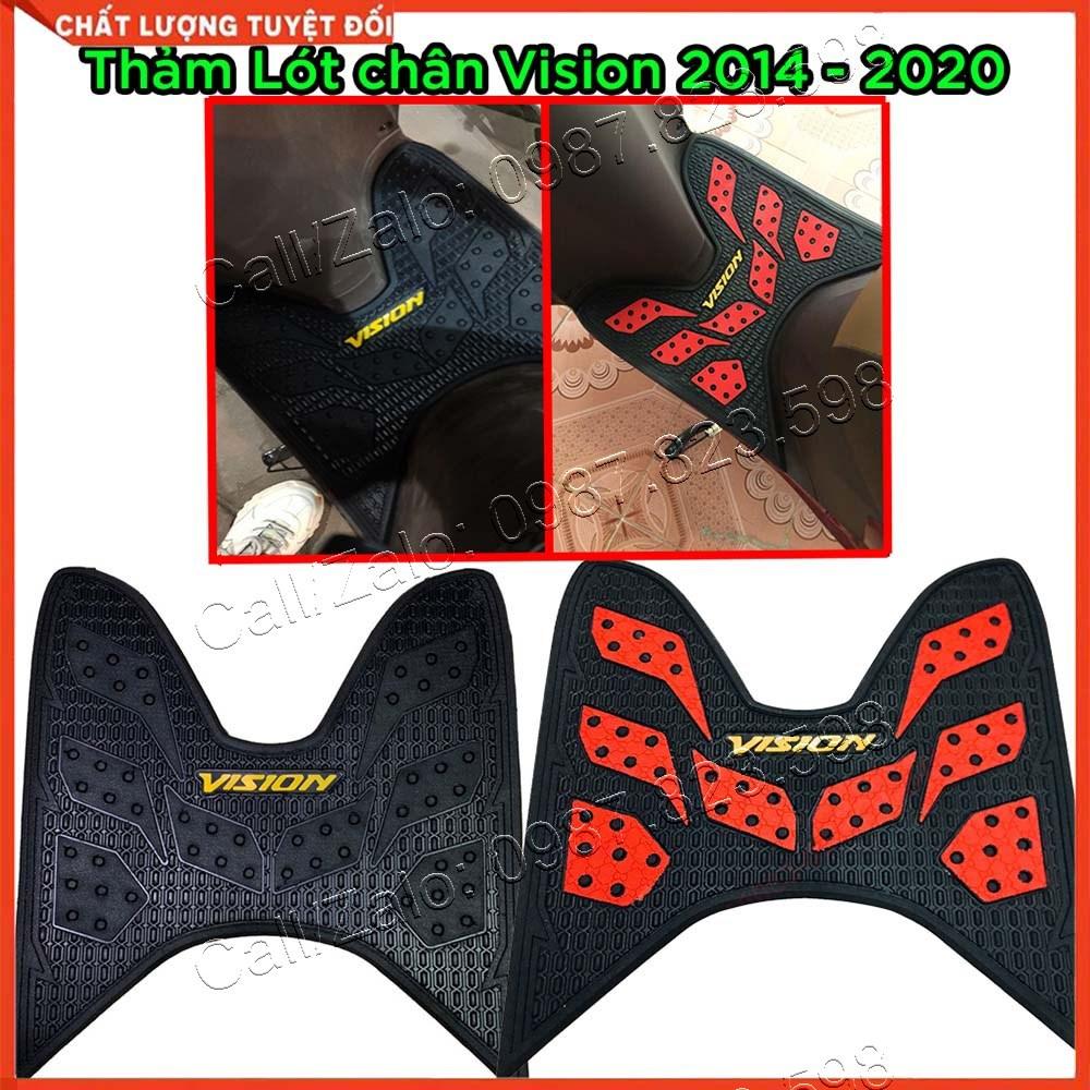 Thảm Để Chân Dành Cho Xe Vision Đời 2014 Đến 2020, Thảm Lót Sàn Xe Vision, Miếng Lót Chân Xe Vision, Miếng Lót Sàn Xe