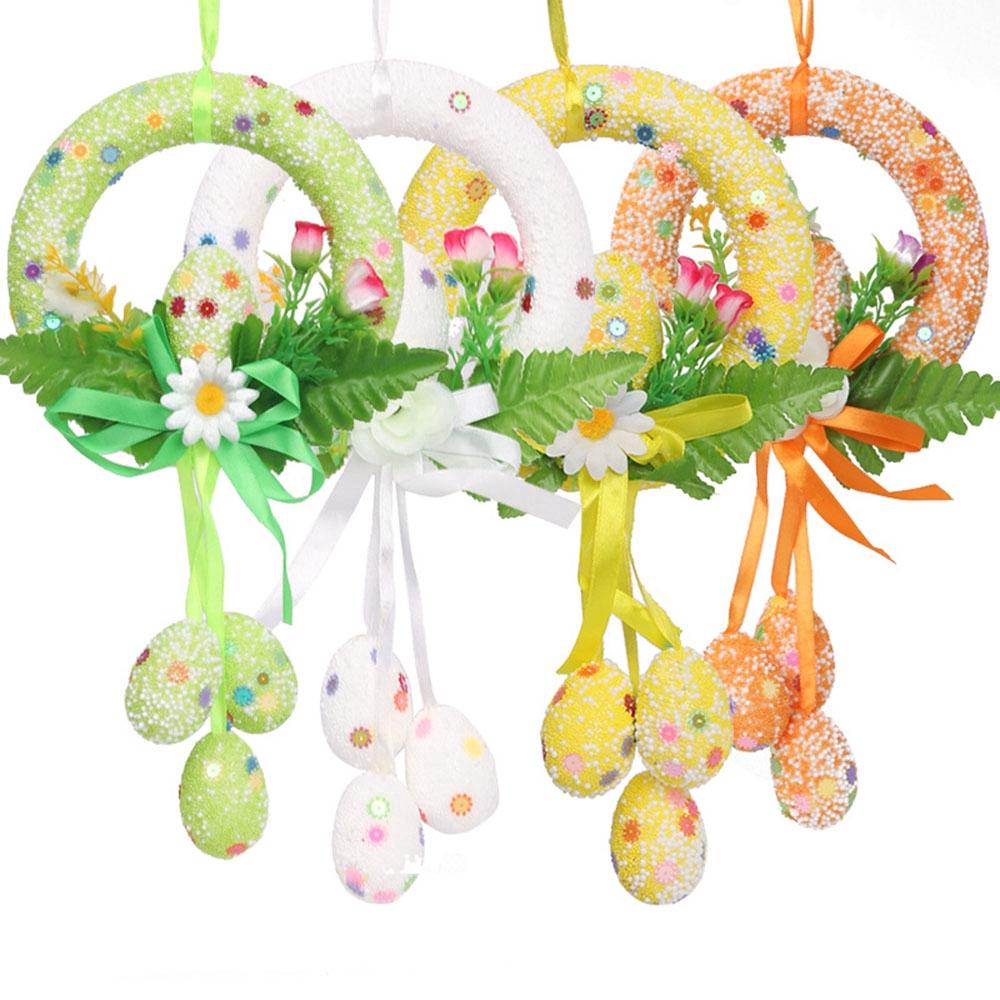 Phụ kiện treo trang trí nội thất hình hoa phục sinh ( Easter greetings )