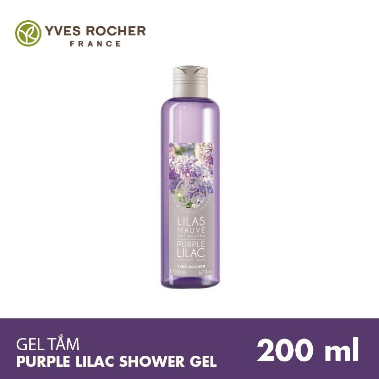 Gel Tắm Yves Rocher Purple Lilac 200ml