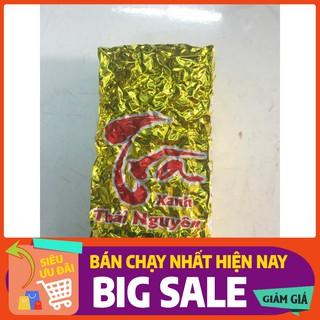Trà Thái Nguyên loại 3 - gói 100g - Trà Tân Cương chuyên dùng pha trà nóng thumbnail