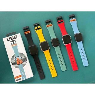 Dây đeo silicon UAG cho đồng hồ Apple Watch Size 40mm/ 42mm thể thao cá tính - Full hộp