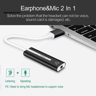 Card âm thanh 7.1 cổng USB và 3.5mm 2 trong 1