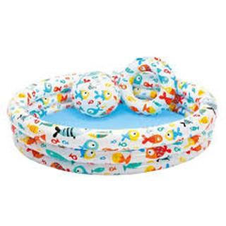 Bể bơi 3 chi tiết Intex 59469 tặng miếng vá dự phòng