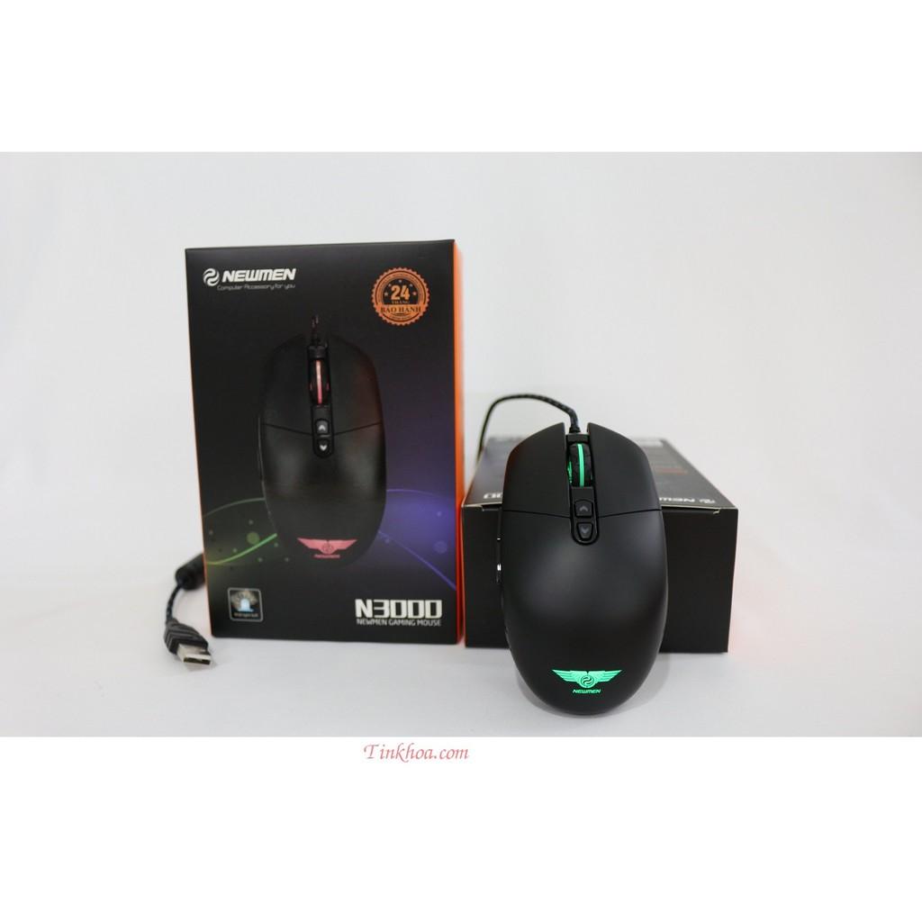 Chuột Chuyên Game Newmen N3000 LED RGB