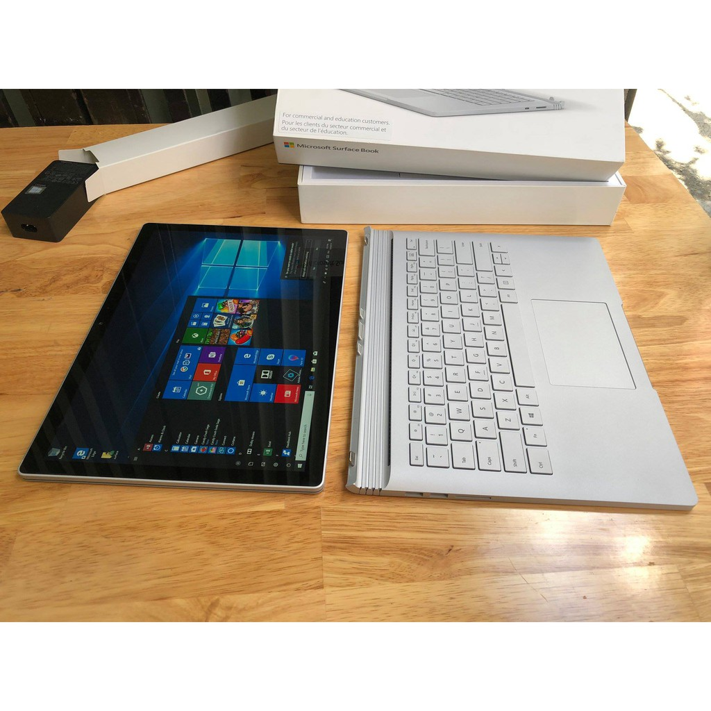 Laptop Surface Book 2, i7 8650u, 16G, SSD 512G, GTX1050