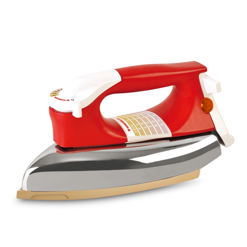 เตารีดไอน้ำ (พร้อมส่ง) หัวใจสีแดงสมัยเก่าเหล็กไฟฟ้าแบ่งเบาครัวเรือนอุตสาหกรรมไอน้ำฟรีภาพวาด rhinestone เหล็กเหล็กผิว 500