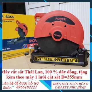 [Chính Hãng] Máy cắt sắt Power 2000w P6355 [Ưu Đãi Khủng]