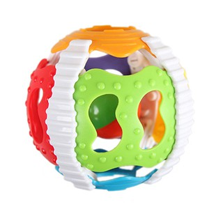 Puzzle Early Education 6-Color Gripping Ball Rattles