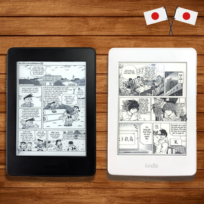 Máy Đọc Sách Kindle Paperwhite Máy Đẹp Có Chứng Từ Nguồn Gốc Xuất Xứ Nhật Bản
