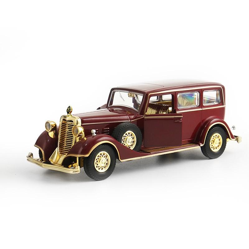 Xe Cổ Rolls-Royce Twenty Tourer Chất liệu Kim Loại, chạy cót, có âm nhạc 18x6x6cm