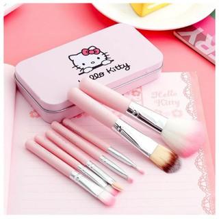 Bộ Cọ Trang Điểm Hello Kitty 7 Cây thumbnail