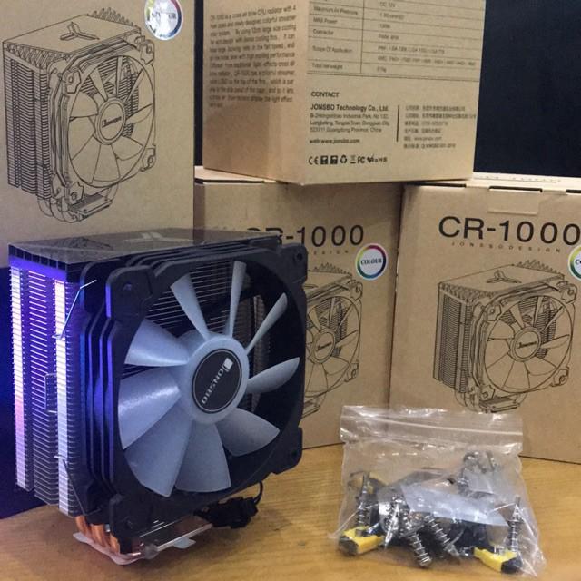 Tản nhiệt khí Jonsbo CR-1000 RGB 2020   Shopee Việt Nam