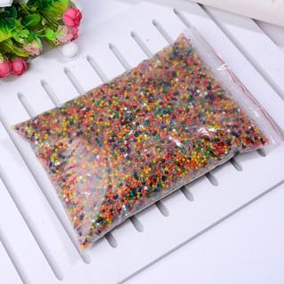 hạt nở làm slime – nguyên liệu trang trí – hạt nở gói 200gram mã ZDD27 Kcam kết đẹp