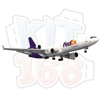 Mô hình giấy Máy bay Fedex MD-11