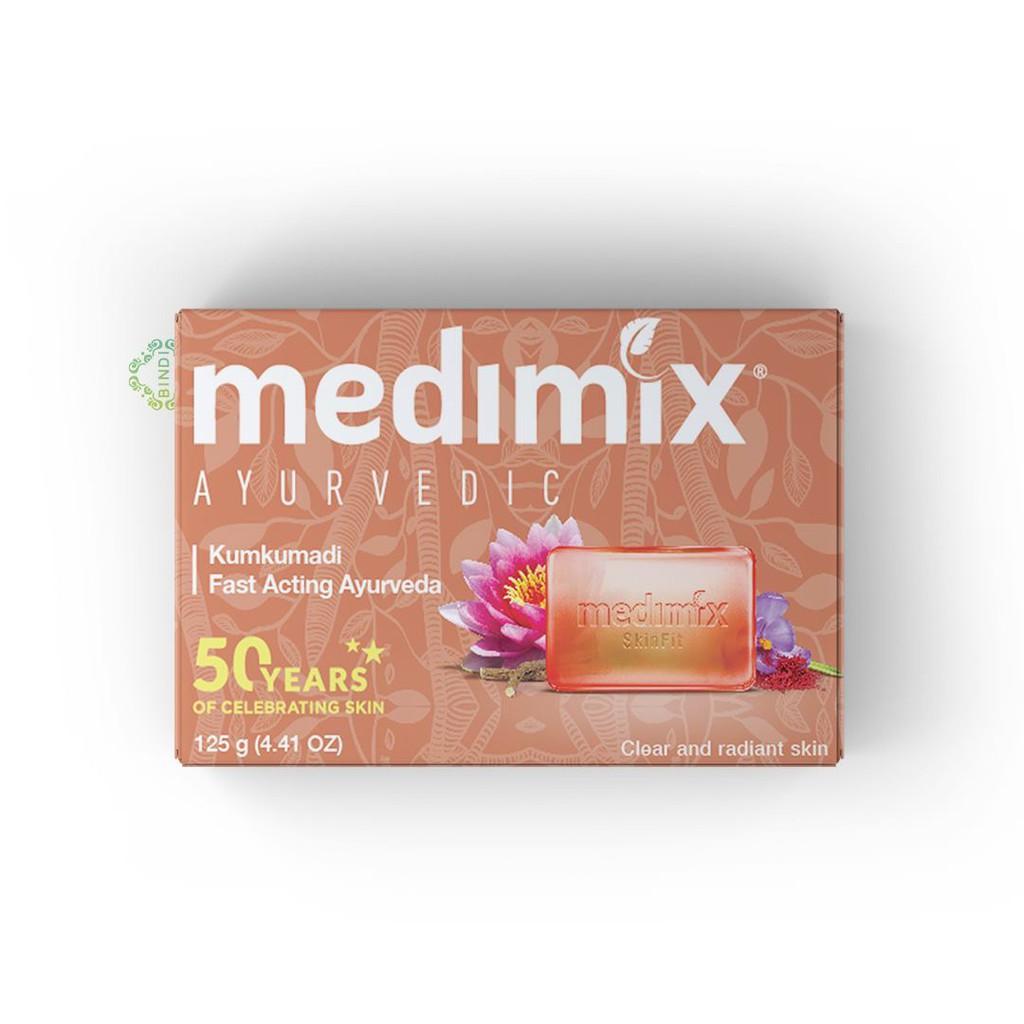 [Mã FMCGMALL giảm 8% đơn từ 250K] Xà phòng Medimix Kumkumadi Nghệ Tây 125g