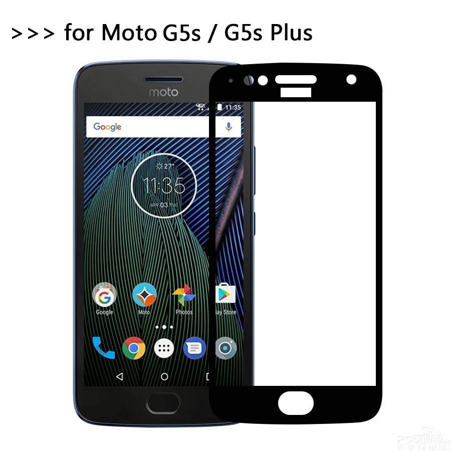 Kính Cường Lực Toàn Màn Hình Cho Motorola Moto G5S Plus G5S