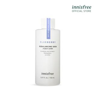 [Mã COSIF9 giảm 10% đơn 400K] Nước cân bằng dưỡng ẩm từ blueberry innisfree Blueberry Rebalancing Skin 150ml thumbnail