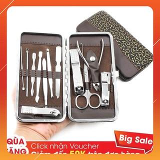 Bộ Cắt Móng Tay Inox 12 Món Full Box ( Gia dụng tiện ích 1102 ) thumbnail