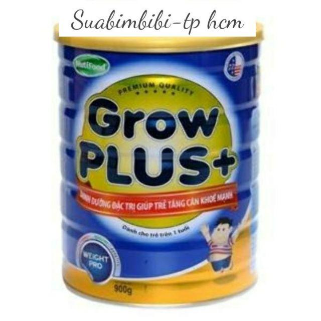 """Sữa Nuti Grow Plus xanh dinh dưỡng hiệu quả giúp trẻ """"tăng cân khẻ mạnh"""" 900g"""