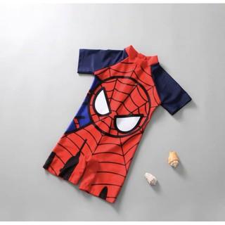 Bộ bơi Spider man, Captain America, ngựa pony… bé trai bé gái 2-6t