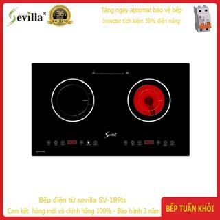 Bếp điện từ Sevilla SV 189ts một từ một hồng ngoại tích kiệm điện năng