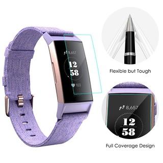 [Combo 2 miếng] Miếng Dán Bảo Vệ Màn Hình HD Clear dành cho Fitbit Charge 2 | Fitbit Charge 3