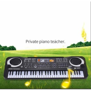 Đàn Piano dành cho trẻ em 61 phím MQ-6106 giúp bé sớm phát triển năng khiếu âm nhạc