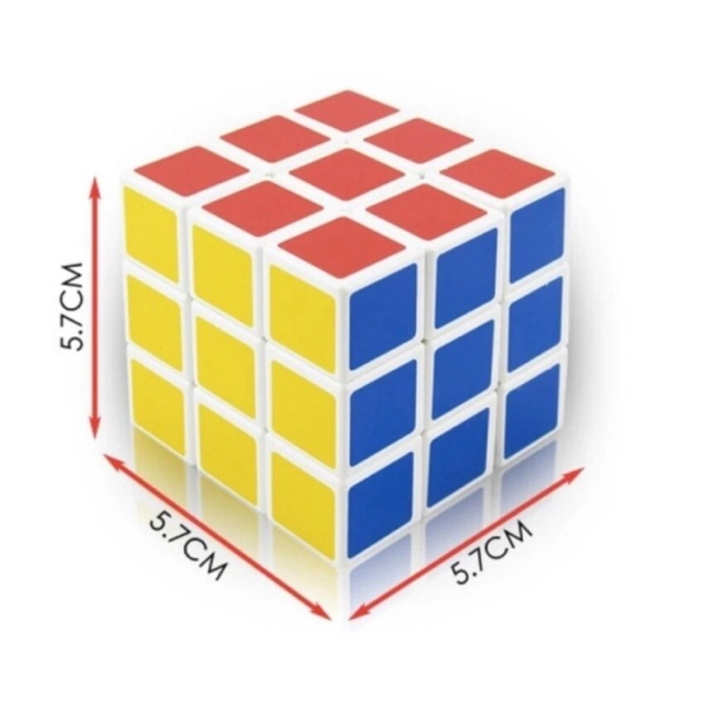 Rubic 6 mặt cơ bản/đồ chơi thông minh phát triển trí tuệ cho bé
