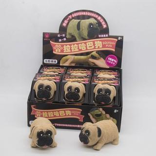 Giải nén con chó, vỗ nhẹ bóp, kéo, pug, đồ chơi, Shar Pei, lỗ thông hơi, phục hồi chậm, bánh cho tạo tác thumbnail
