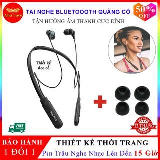 [TAI NGHE LOẠI 1+FREESHIP] Tai Nghe Bluetooth quàng cổ E35 Pin trâu 15 Tiếng – Hàng cao cấp – Bảo hành 12 Tháng 1 ĐỔI 1