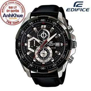 Đồng hồ nam dây da Casio Edifice chính hãng Anh Khuê EFR-539L-1AVUDF