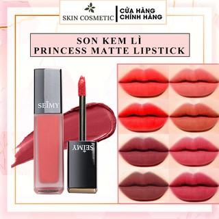[CHÍNH HÃNG] Son kem lì Seimy - Princess Lipstick Matte - Son thiên nhiên an toàn cho bà bầu, kháng nước, nhiều dưỡng thumbnail